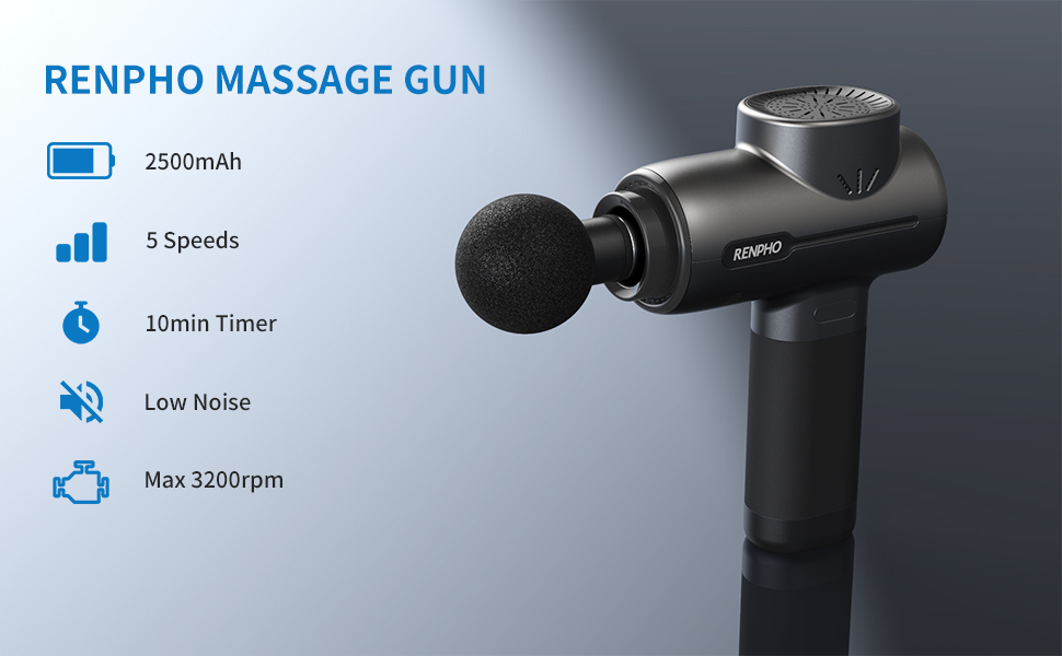 pistola renpho massaggio muscolare