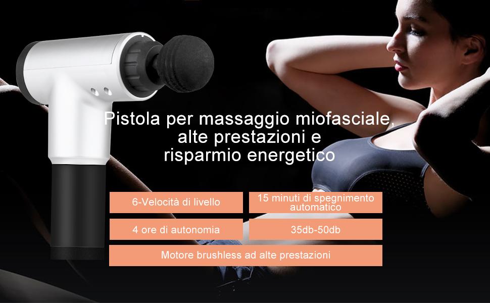 pistola massaggio miofasciale