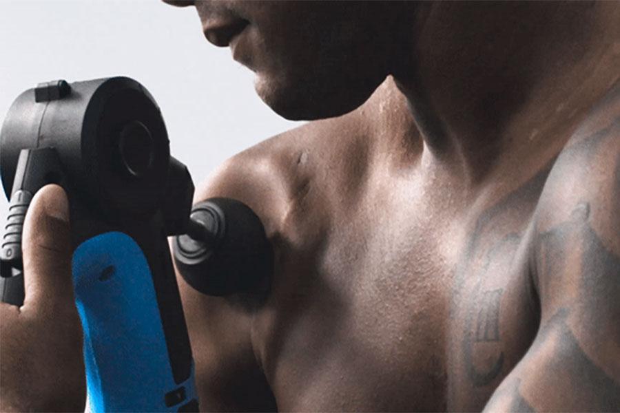 pistola massaggiante